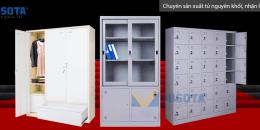 Các loại tủ sắt sử dụng trong văn phòng