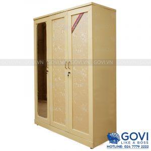 Tủ sắt đựng quần áo QA02F