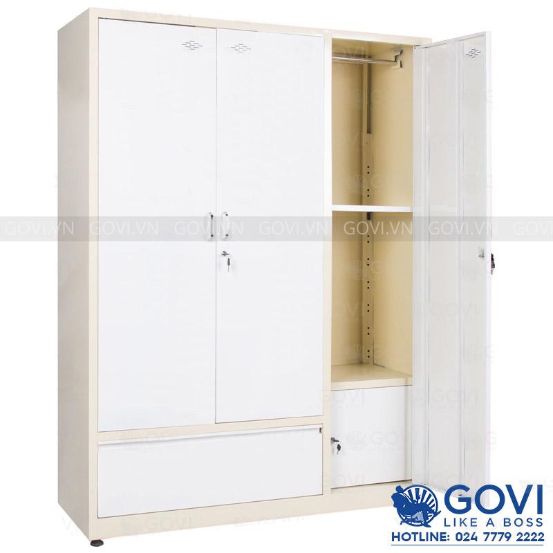 Tủ sắt quần áo QA02K-V