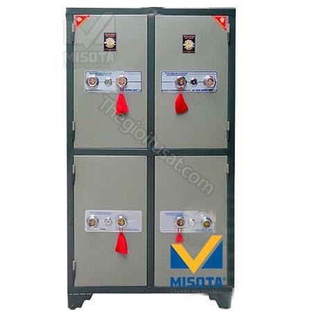 Tủ bảo mật 4 cánh khóa cơ BMKC04