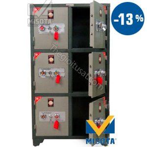 Tủ bảo mật khóa cơ 6 cánh BMKC06