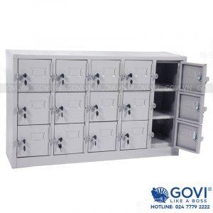Tủ locker sắt 15 ngăn LK15.DT