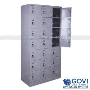 Tủ locker sắt 21 ngăn LK21