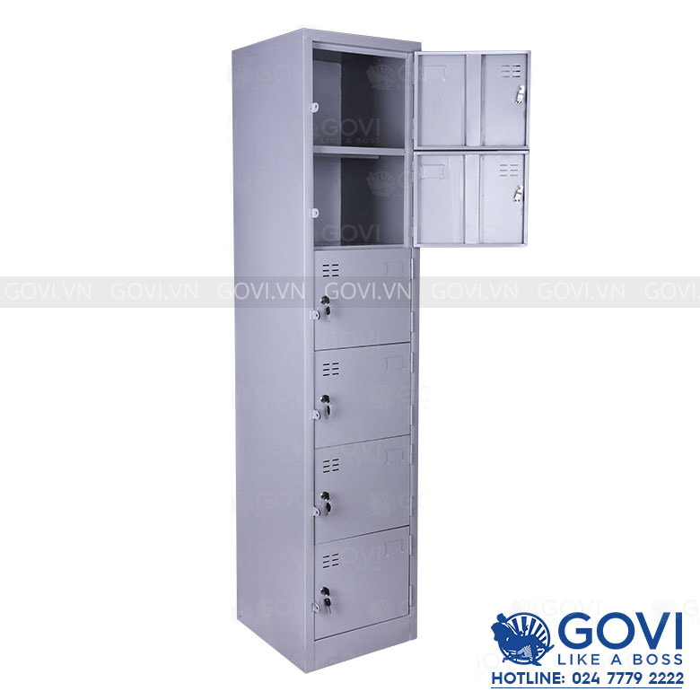 Tủ locker sắt 06 ngăn LK6C1