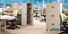 Tạo dựng một không gian chuyên nghiệp với tủ sắt văn phòng