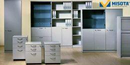 Những mẫu tủ tài liệu trắng cho một văn phòng tinh tế