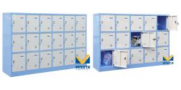 Mẫu tủ locker phù hợp với các trường học