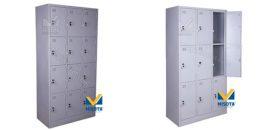 Giúp không gian trở nên rộng rãi và gọn gàng với tủ sắt locker