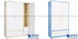 Giới thiệu mẫu tủ sắt đựng quần áo trang trí tại thegioitusat.com