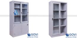 Top 3 sản phẩm tủ sắt tài liệu cánh lùa cho khách hàng