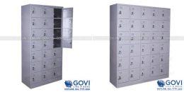 Tủ locker sắt nhiều ngăn sản xuất nguyên khối tại Thế giới tủ sắt