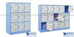 Giới thiệu mẫu tủ sắt locker dành cho các trường học