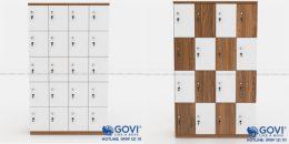 Tủ locker gỗ sang trọng trong từng đường nét
