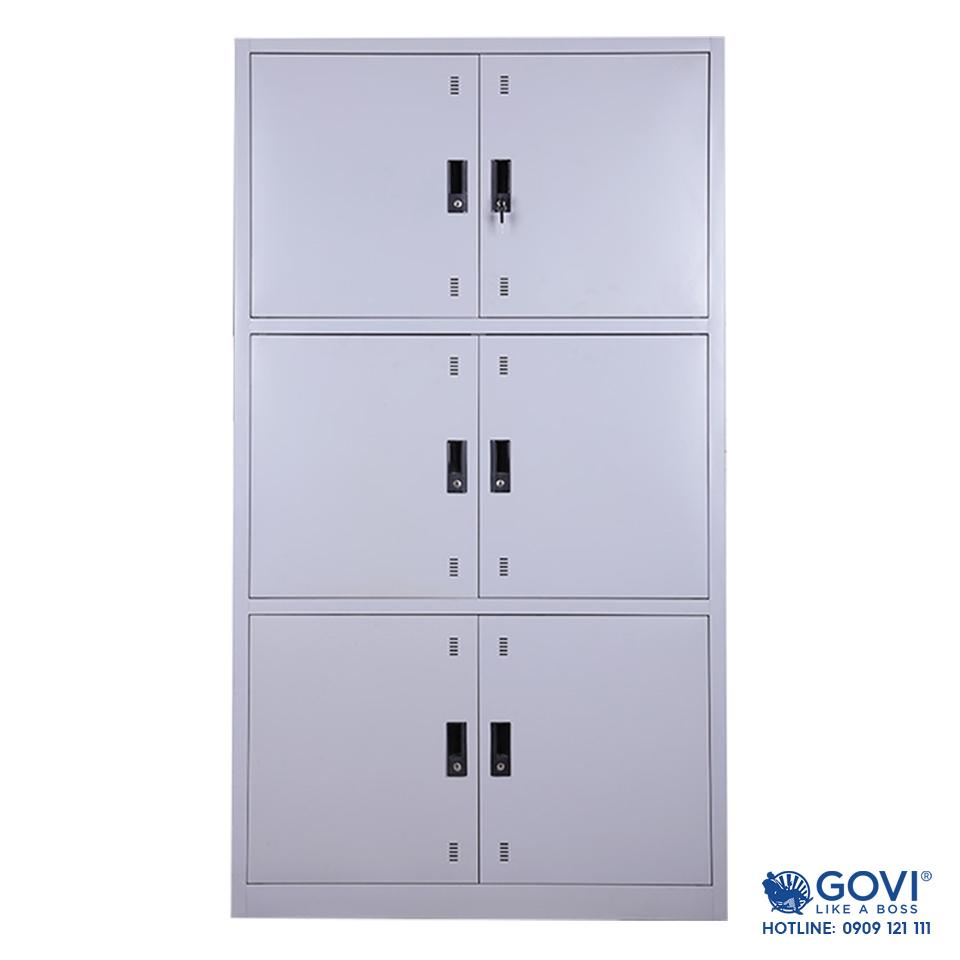 Tủ locker sắt 6 ngăn LK06