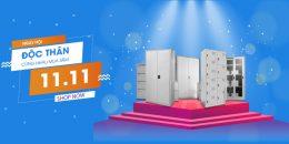 Ngày hội độc thân cùng nhau mua sắm online đừng quên mua đồ nội thất tại Thế giới tủ sắt GOVI