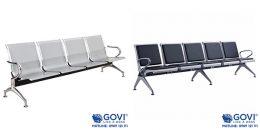 Ghế băng chờ 4 chỗ tiện lợi giúp việc chờ đợi trở nên dễ dàng hơn