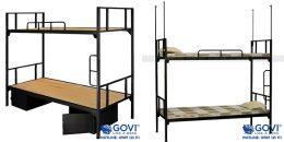 Giường sắt: giải pháp lắp đặt trong các khu kí túc