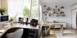 Gợi ý cách bố trí văn phòng nhỏ tại nhà đạt hiệu quả tối ưu