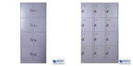 Tủ locker hiện đại, thông minh giúp tiết kiệm diện tích