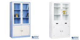 Có nên sử dụng tủ sắt tài liệu ở văn phòng, trường học, bệnh viện hay không?