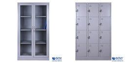 Sử dụng tủ tài liệu sắt 6 ngăn hiệu quả giúp văn phòng ngăn nắp gọn gàng