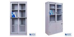 Tủ hồ sơ cánh lùa dễ dàng sử dụng, tiện lợi giúp không gian văn phòng chuyên nghiệp hơn