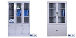 Tủ tài liệu sắt sơn tĩnh điện bền đẹp, an toàn khi sử dụng