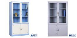 Setup nội thất văn phòng chuyên nghiệp với tủ tài liệu sắt Govi